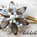 Bunga Kristal Bening Putih