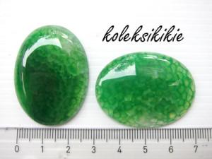 cabochon-telur-hijau