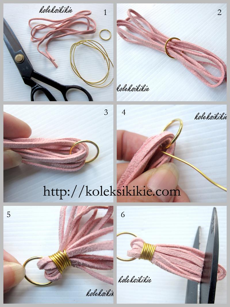 cara membuat gelang pria dari tali sepatu dengan mudah