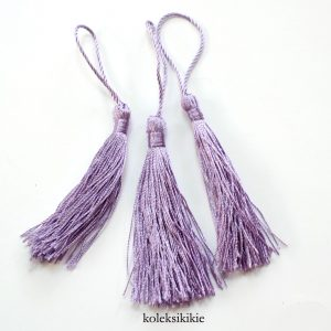 tassel-nilon-ungu