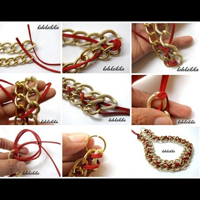Tutorial membuat kalung Http://koleksikikie.com/tutorial  #diyaccesories #handmadeaccesories #handmade #art #artwork #chain #necklace #koleksikikie