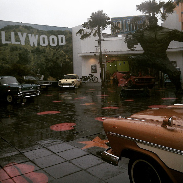 Its raining here in hollywood lol... Outing Tahunan Koleksikikie Di Museum Angkut Batu Malang #koleksikikie #timkoleksikikie