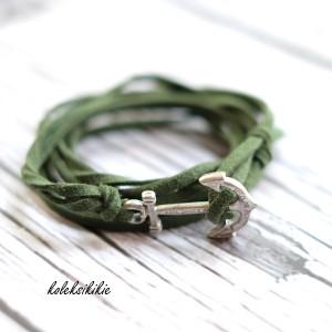 gelang-jangkar-hijau-army