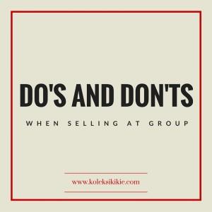 jualan di grup