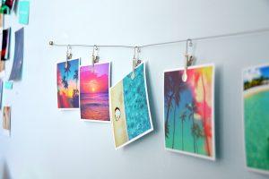 display foto