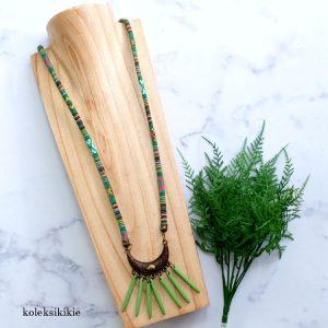 kalung-tenun-meena-hijau