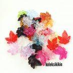 akrilik daun flamboyan keriting